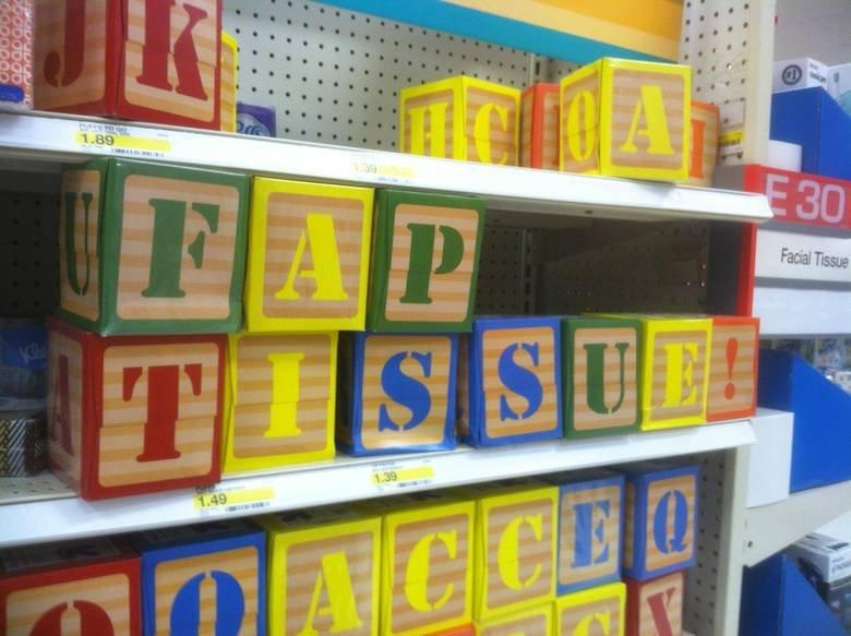 Target tissue box shenaans. .