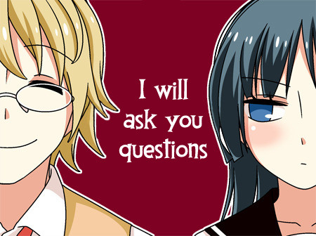 T.C: I will ask you questions. Other comics that feature Kirihara Youichi x Chiba Sayaka:  join list: Tsur
