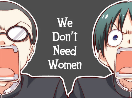 T.C: We Don't Need Women.  join list: TsurezureKids (980 subs)Mention Clicks: 22705Msgs Sent: 43797Mention