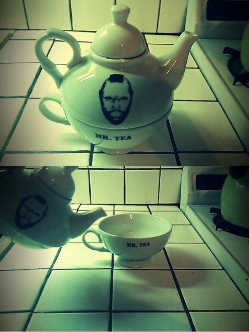 Tea time. I pitty tha foo.