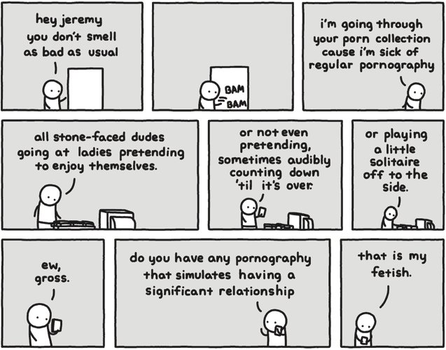 That is my fetish. this is the funniest comic ever, not oc, prob will get like 13 thumbs but tht's cool. as bad at usual anus: PM link of regular pornography er