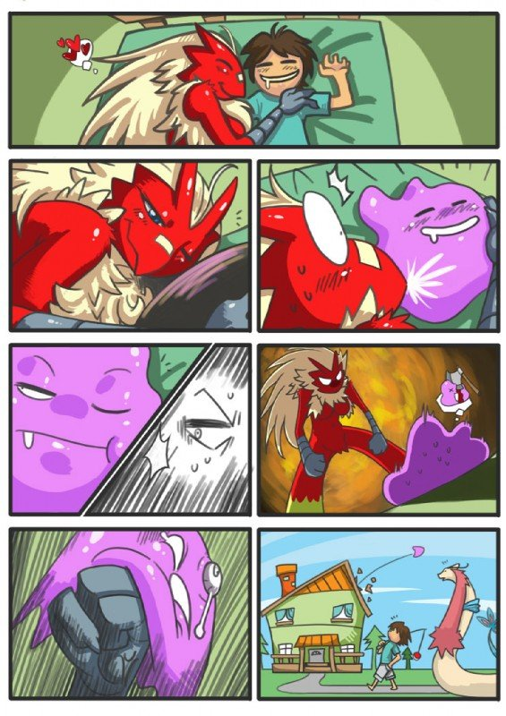 That Horny Ditto. .. If... If it was the boy... Would you technically call it beastiality?!?!?!?! D:!!!