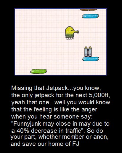 That Feeling. if you own an itouch, you know the feeling. Missing that know, the only jetpack for the next 5, , yeah that one... you would know that the feeling