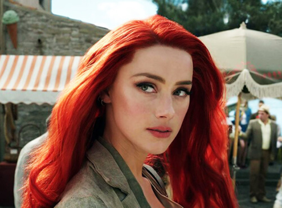 The Ariel I envisioned for live action. Amber Heard (Mera from Aquaman) already looks the part to play Ariel... What is she gonna do? Beat the out of Prince Eric?