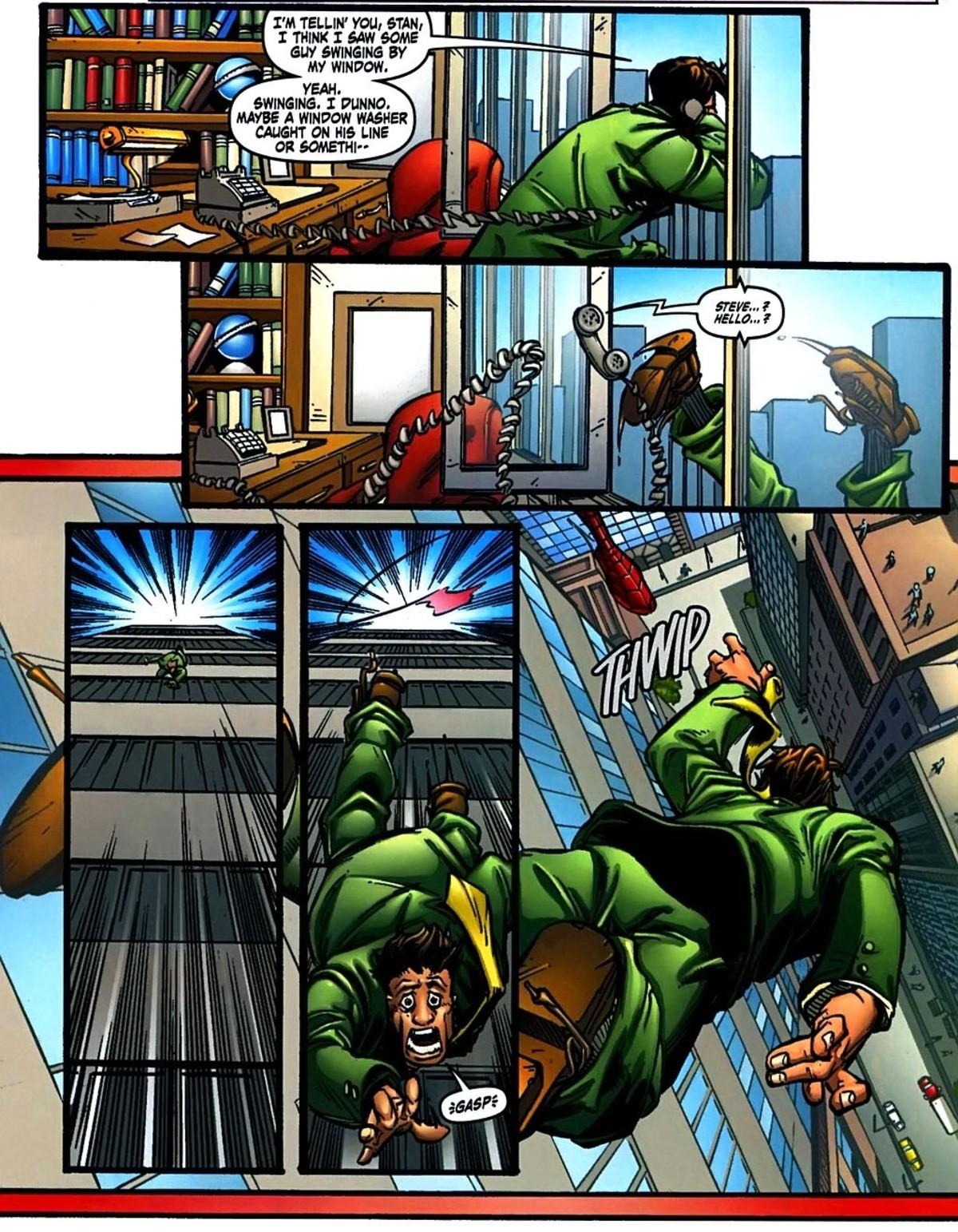 The Armpit Guy. Amazing Fantasy (2004) Issue #15 .