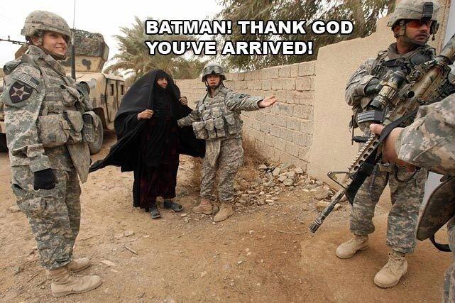The Army. .. Thank you for showing me this, truly hilarious