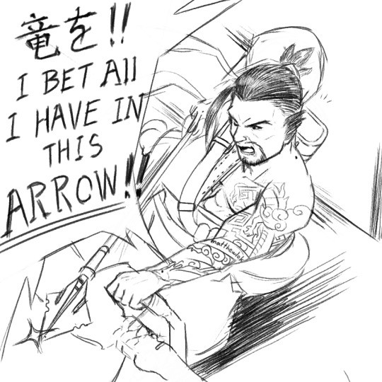The Arrow !. .. Oh come on, that was totally a headshot.