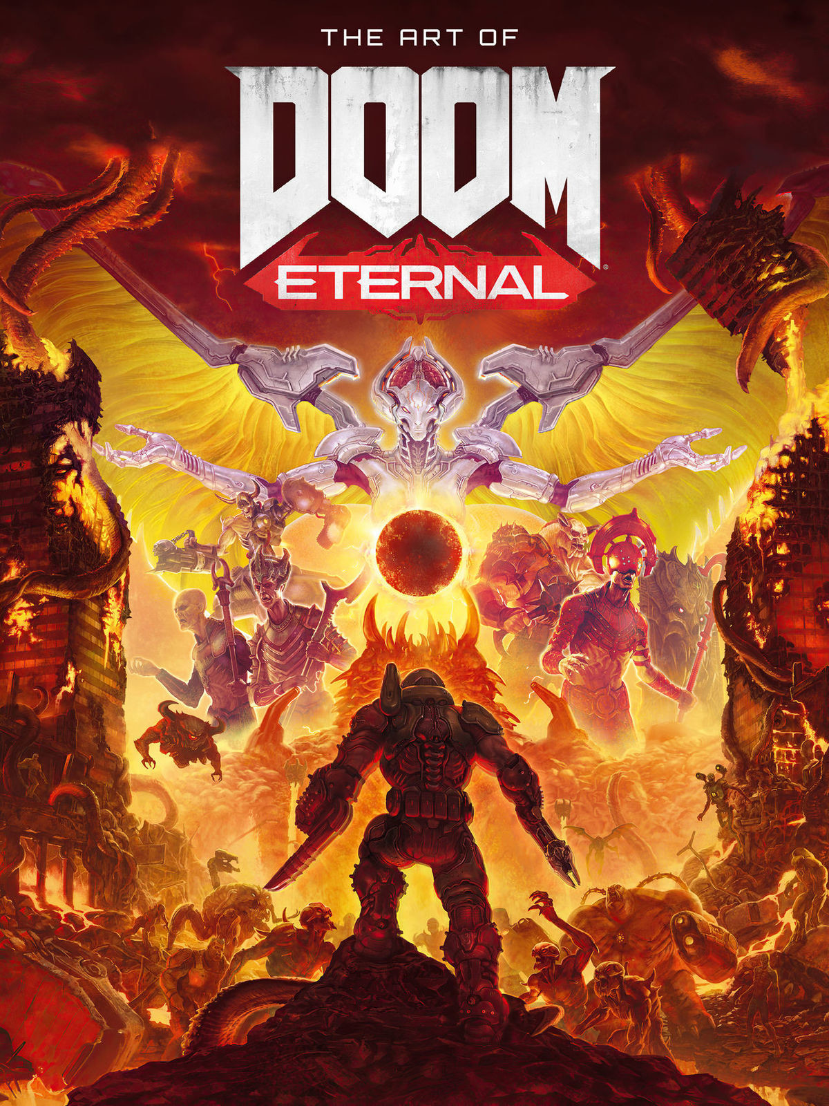 """The art of Doom Eternal (2020) Spoilers!. .. Yo that Doom Slayer part, specifically the last sentence: """"Confronting his past if he hopes to stop history from repeating itself"""" Thats proof! Doom S"""