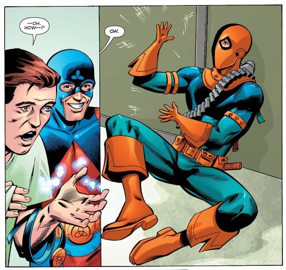 The Atom's Power. .. Dully noted. Never ask Atom for a hand in anything.