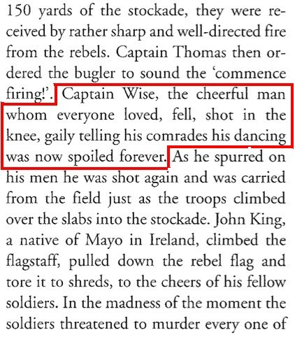 """The Australian Nord. An excerpt from """"A History of Australia"""". 150 yards of the stockade, they were re- chived by rather sharp and fire from the rebel"""