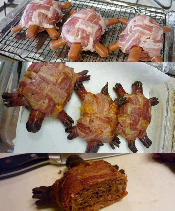 The Bacon Turtle. not mine, but thought i should share.