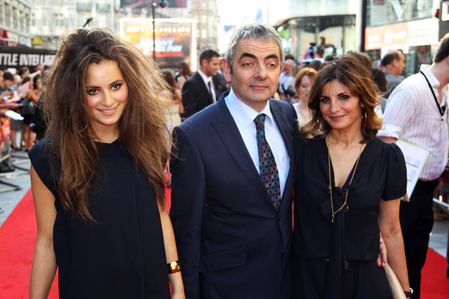 The Beans. Rowan Atkinson and family.. I don't even see any Mexicans.