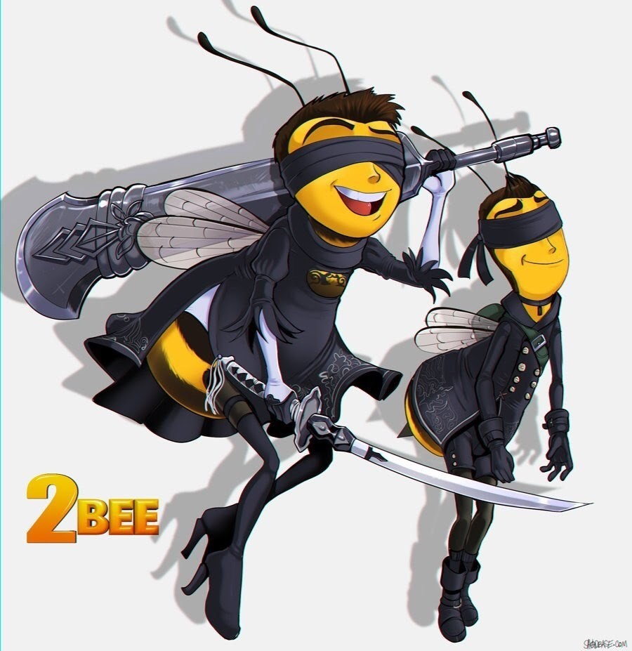 The bee movie: automata. .. Repost