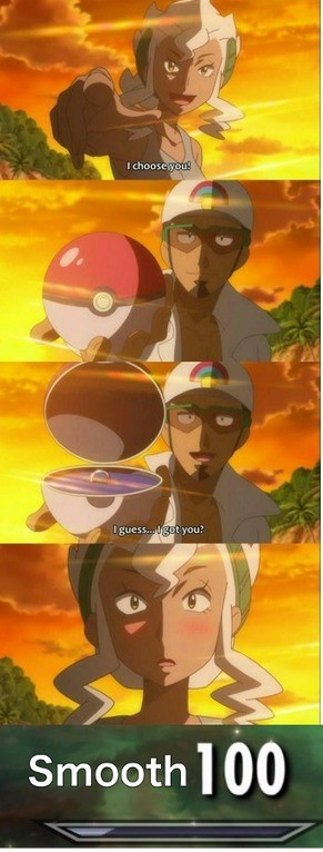 The best capture of all. join list: WeebTrash (456 subs)Mention History.. I've got to show this to my brother. He and his gf are both into pokemon so I knw they'd get a kick out of it.