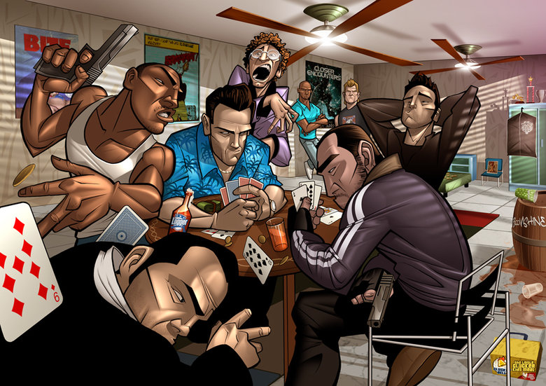 The best of cards... With the worst of people. AKA, Party in vice City 2..