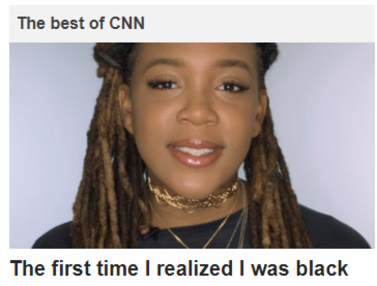 The Best of Cnn. . The best of The first time I realized I was black
