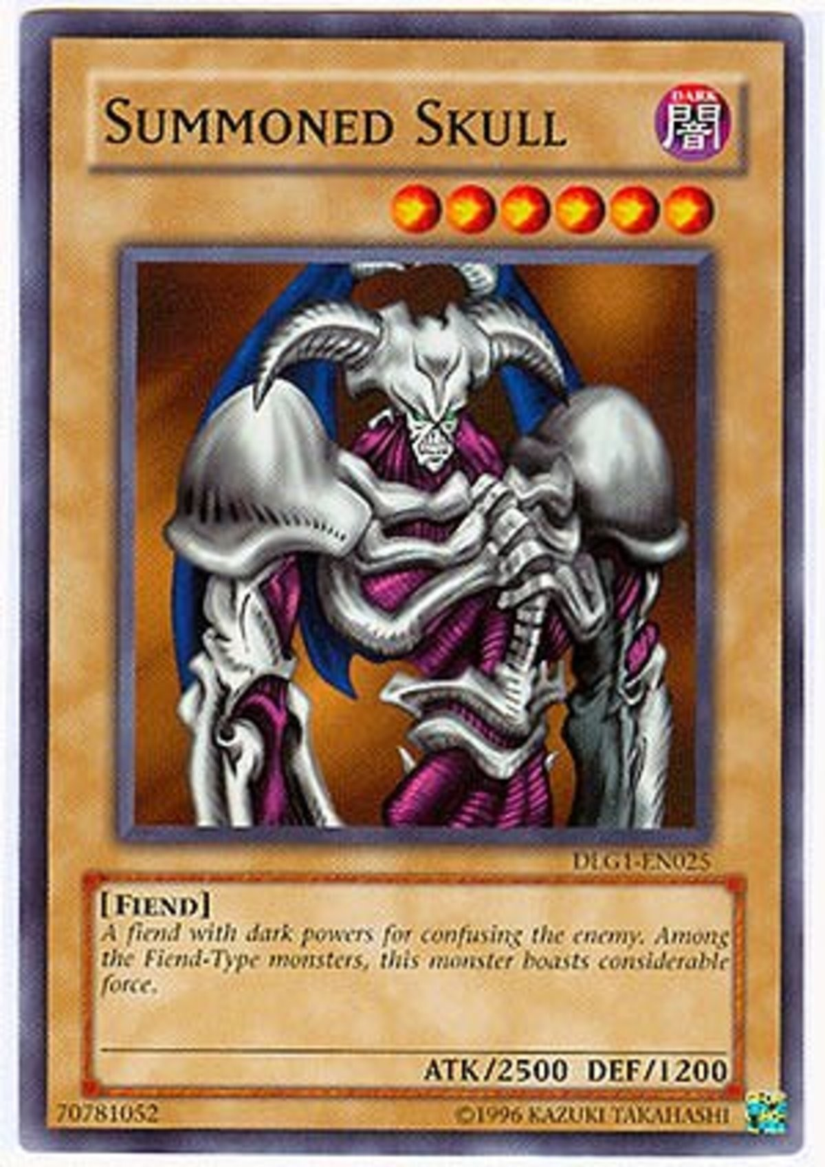 The big boy from 2002. .. Best part is he was objectively better than dark magician since he only needed 1 tribute to summon when dark magician needed 2, feels good man.