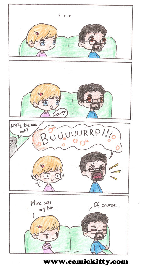 The Big Burp. EDIT: With the knew AudioUpload Feature, upload your best burp and show us what you got! Consider subscribing if you like my comics and help me to