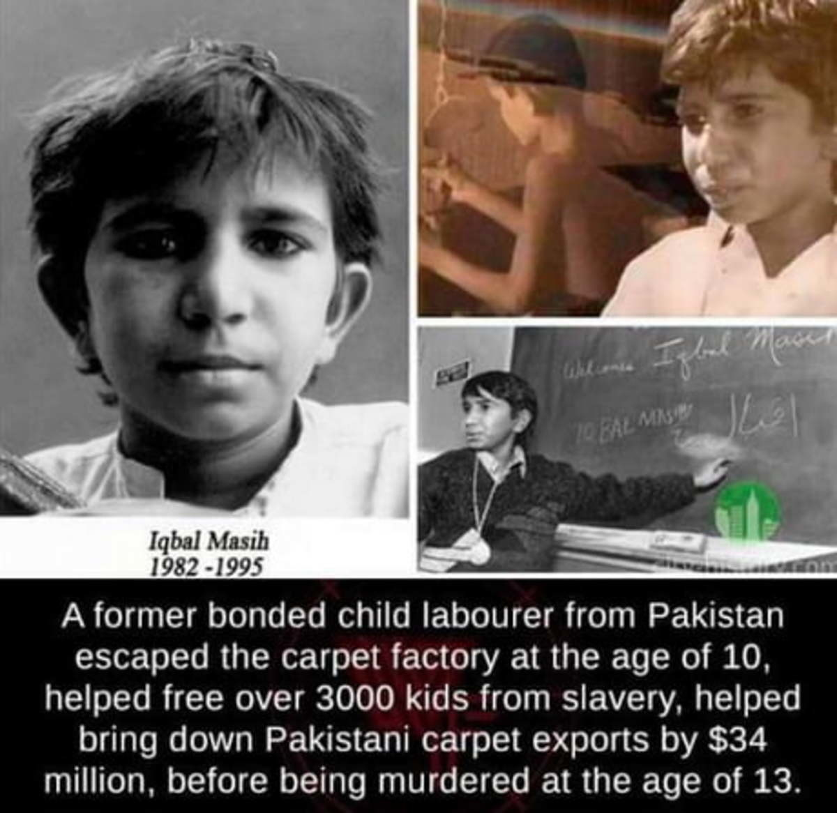 The Big Carpet assassinated this boy.. Props to this young man... What's YOUR excuse?