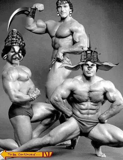 "The Bodybuilder Men. Great gains and muscles will come to you, but only if you type ""Wecken Sie meine Meister!"".. So THAT'S what the Custodes look like beneath those helmets!"