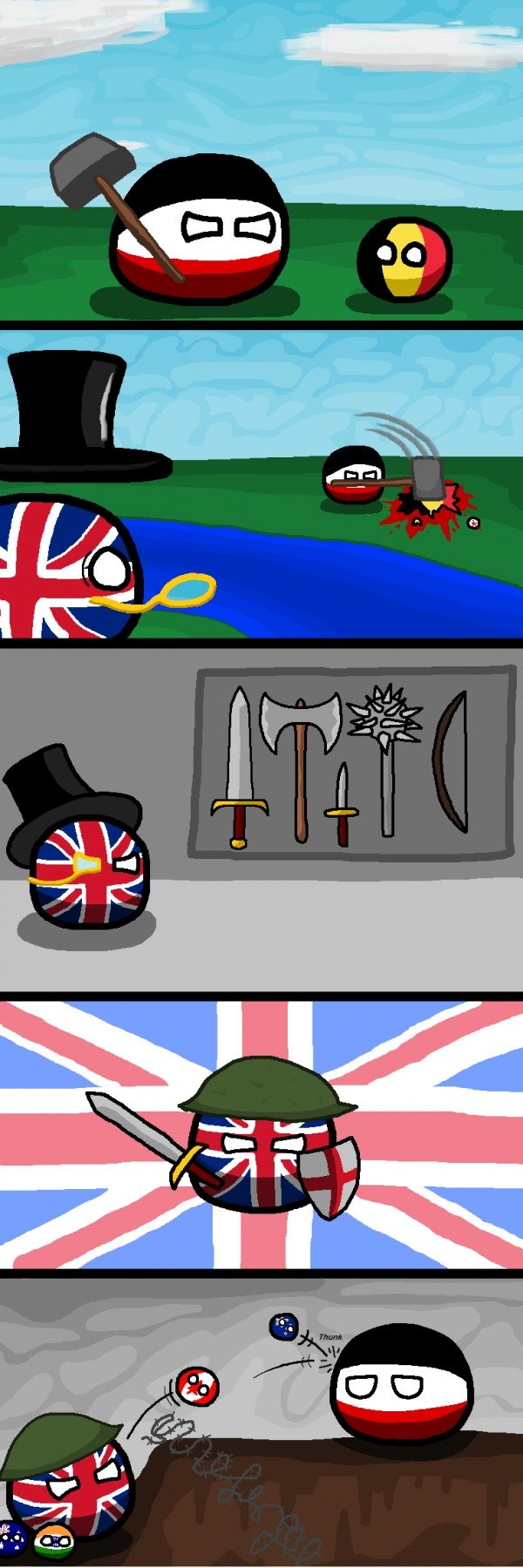 The British Way. .. Don't forget airdropping opium, truly the best tactic.