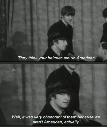 The B-Sharps. Source: Beatles Interview. They think your haircare are marten Well, it was very of them because we aren' t American, mt: tually. I'm not sure the interviewer thought about that question before he answered.