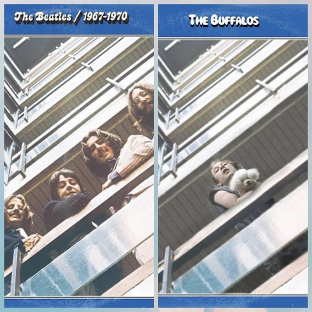 The Buffalos. . tthe Beatles v/'