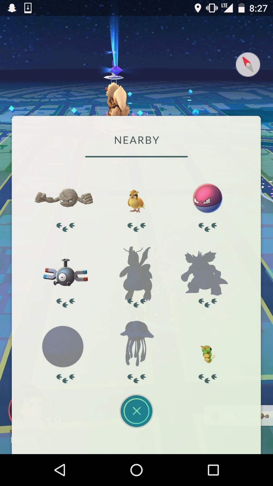 The bug strikes again. the 3 footstep bug. I hate it.. the 3 footstep bug is callad a caterpie