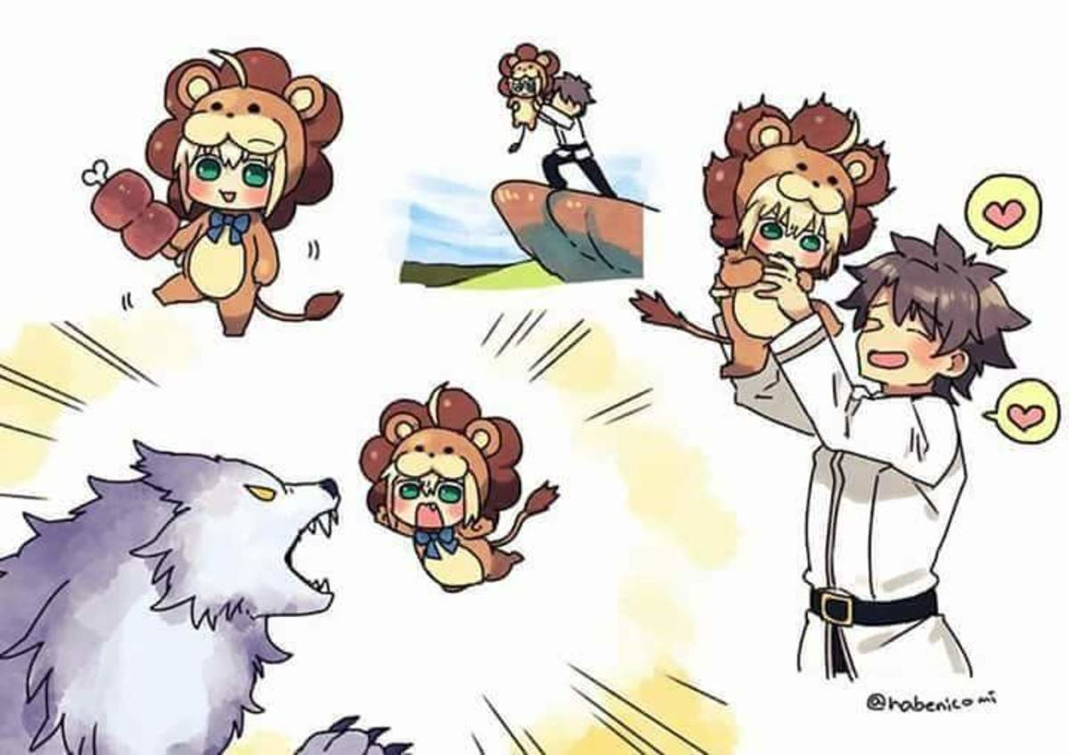 The Circle of Lifeeee. join list: SmolHol (1464 subs)Mention History join list:. So cute, lion saber kawaii