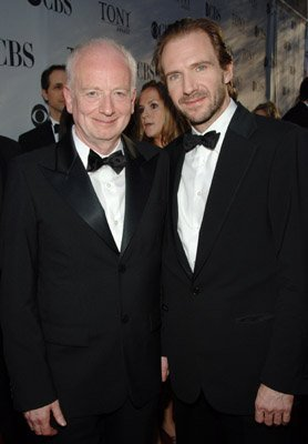 The Dark Lords. Emperor Palpatine and Lord Voldermort in suits!.