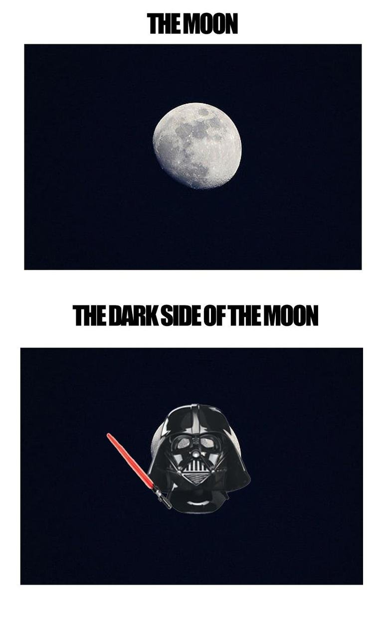 The Dark Side Of The Moon. .