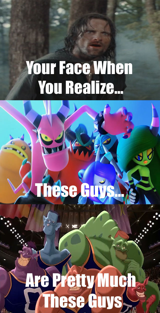 The Deadly Monstars. .. that, the Monstars are way cooler than some one time sonic antagonists