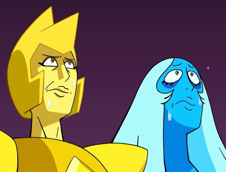 the diamonds visit deviantart. .. No they see the