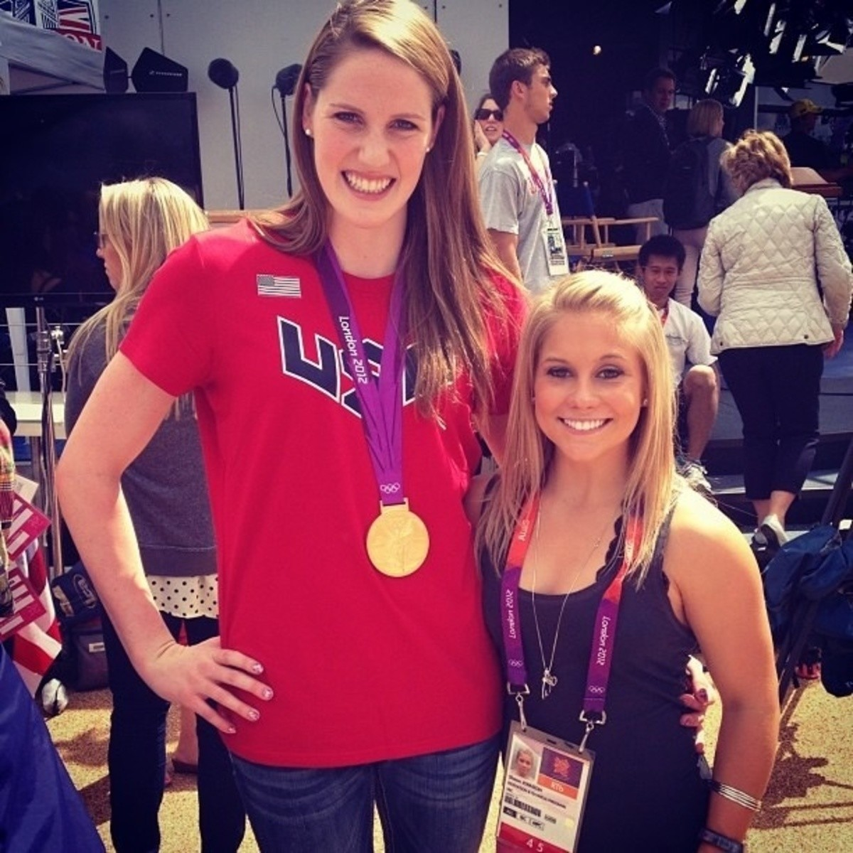 The difference between an Olympic swimmer and an Olympic gymnast. .. Everything is a dildo, if you're brave enough.