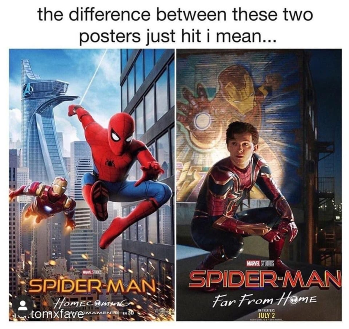The difference. .. Is that suit directly how it looks from the comics? I know you can use it in the videogame, but I thought the modern movies changed them a little. The Iron Spid