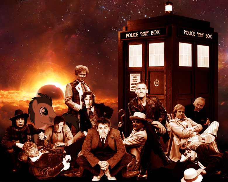 The Doctors. I came across this awesome picture and noticed that the creator was careless and left out somepony, so i fixed it. If anyone knows where to find a