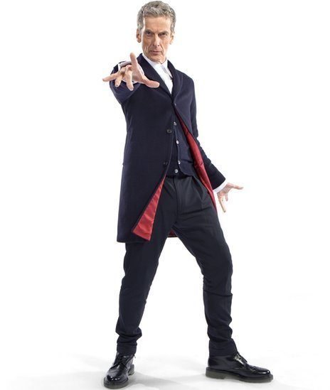 The Doctor's New Look. Just Announced on on bbc, the new look of the Doctor featuring Peter Capaldi: .. <---- you