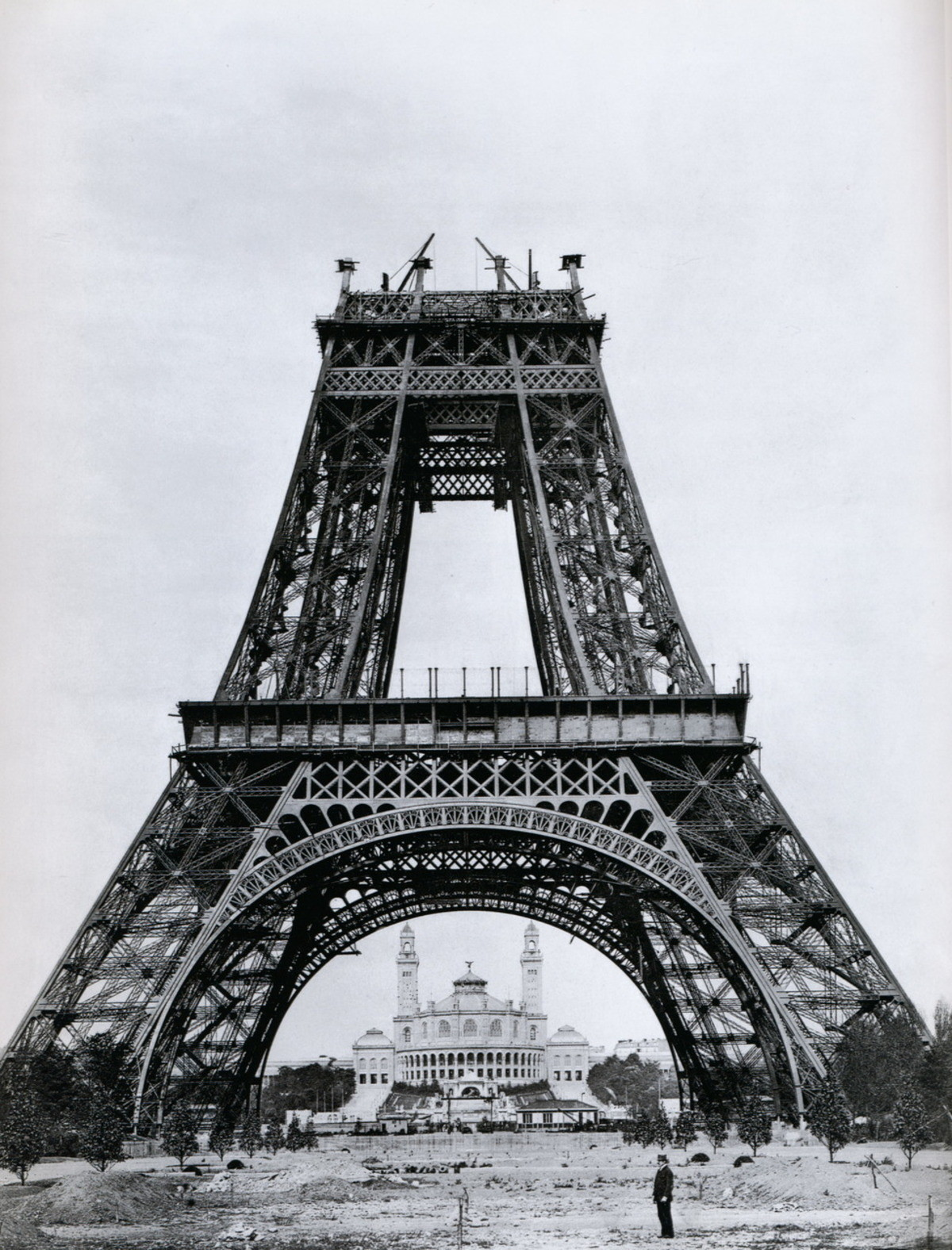The Eiffel Stump. That's what you get for buying from Ikea... magnificent work of engineering. if Man is remembered for anything, I hope he's remembered for this.