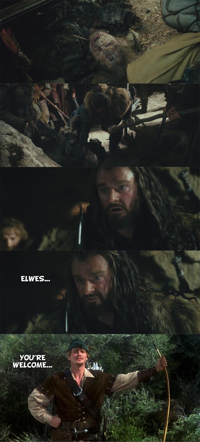 The Hobbit - Thorin's nemesis. .