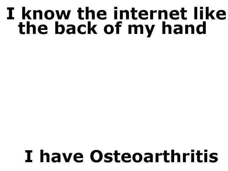 the internet. .