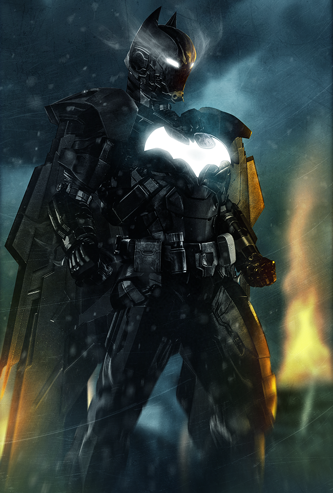 The Iron Bat never sleeps.. Bruce Stark, reporting in... Looks like this guy