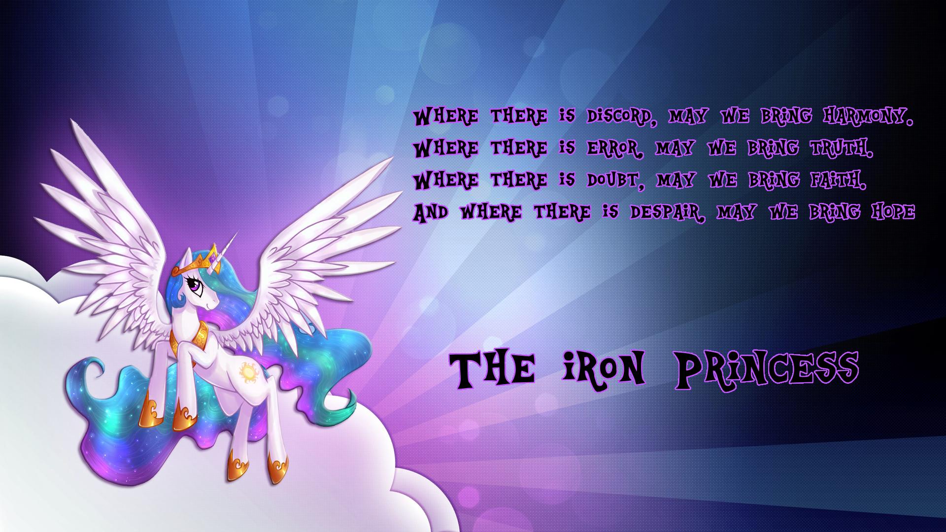 The Iron Princess. In memory of the Iron Princess.