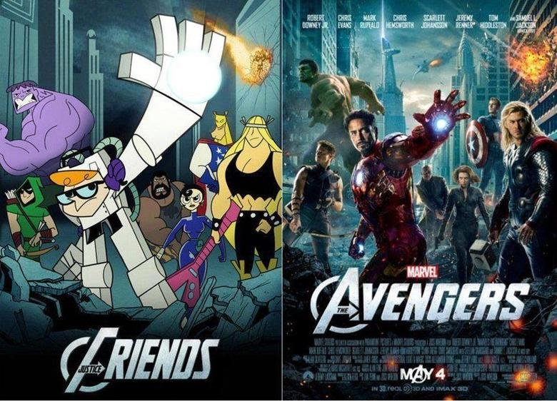 The justice Friends. I'd much rather watch that movie... REPOST