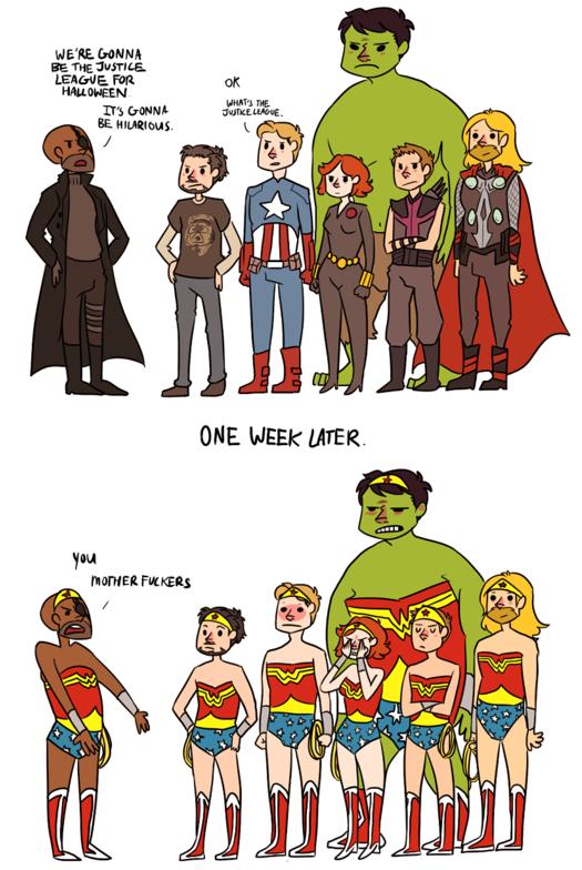 The Justice League. enjoy.