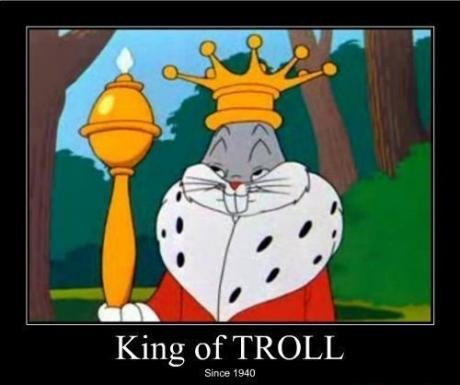 The King of Troll. . King. 1. Go to Florida. 2. Cut Florida off of America. 3. Sell Florida back to America. 4. Infinite moneys.