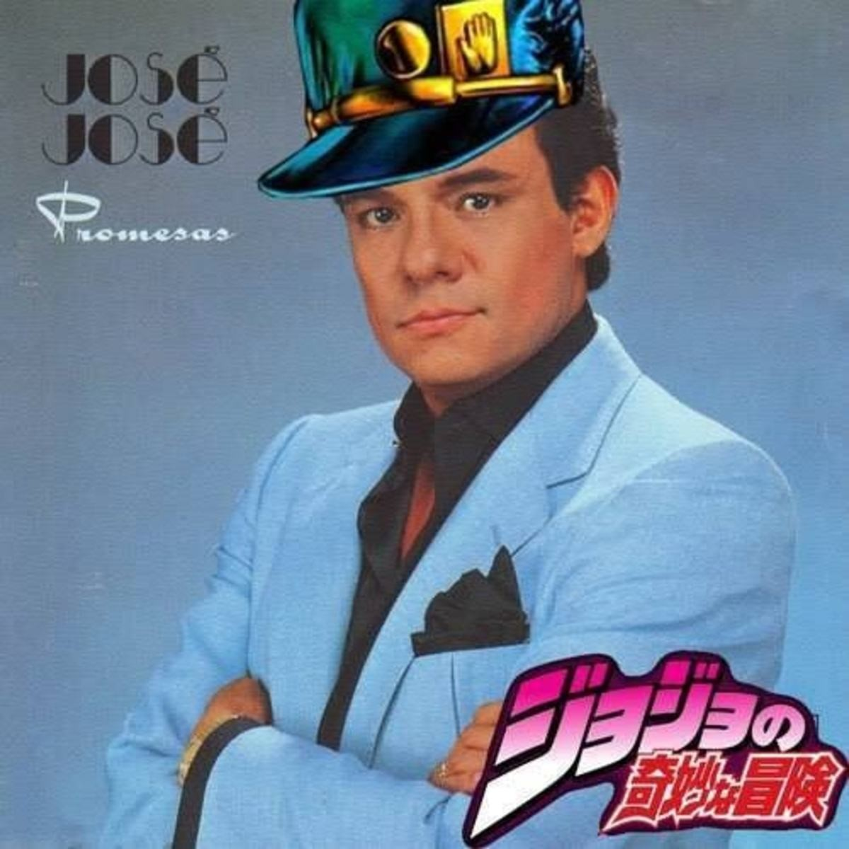 The King without Crown. Context: Mexican singer José José died last month..