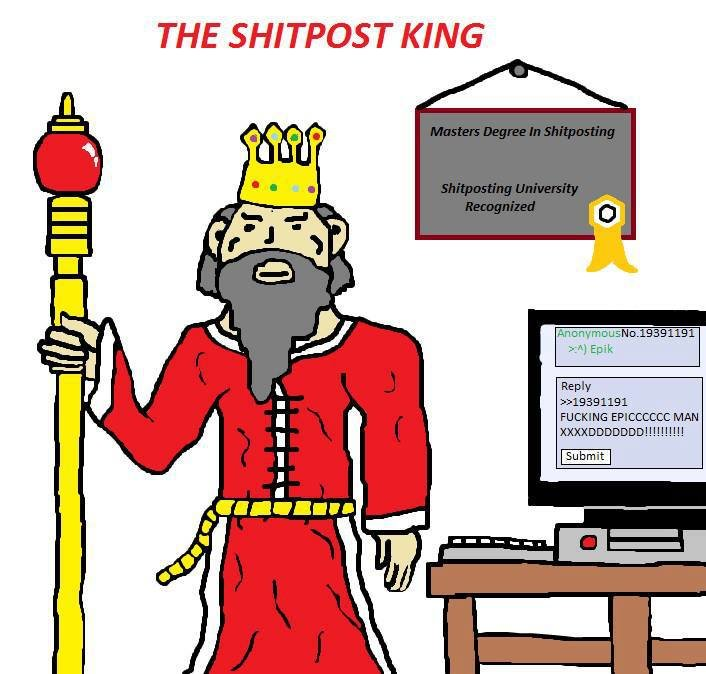 The king. . THE SHITONS T KING Anon -gm DU