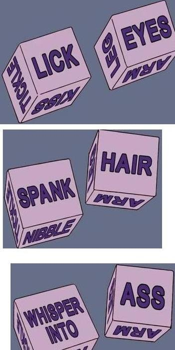 The Kinky Sex Dice. .