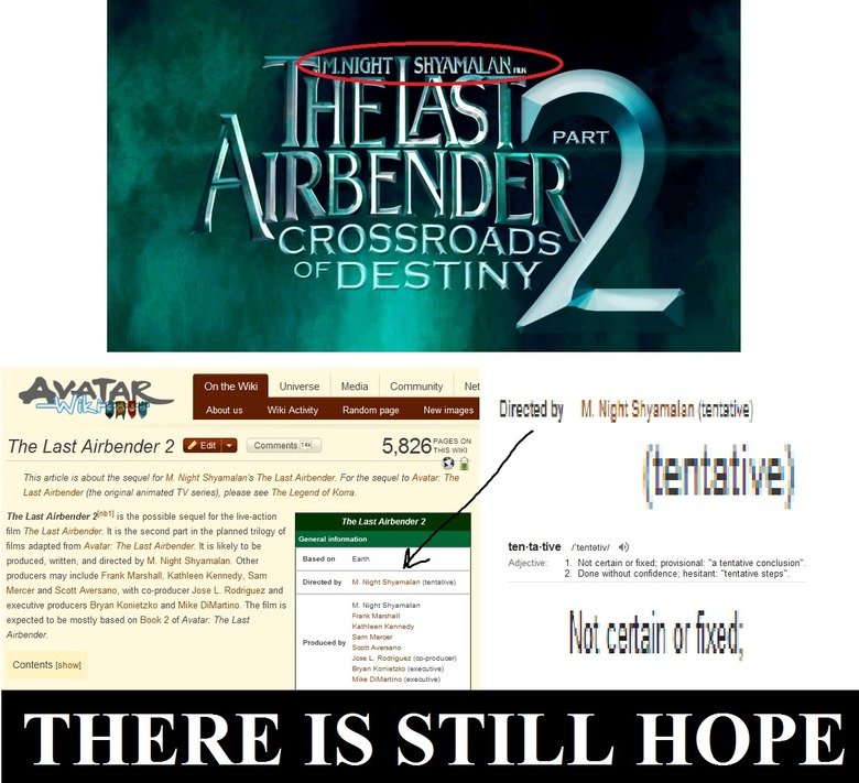 The Last Airbender 2 Movie. source: LastAirbender_2. are all I .. tth the twilust Universe Media Community Net u s 'diller& Fiend o m IN Directed t it Night {te