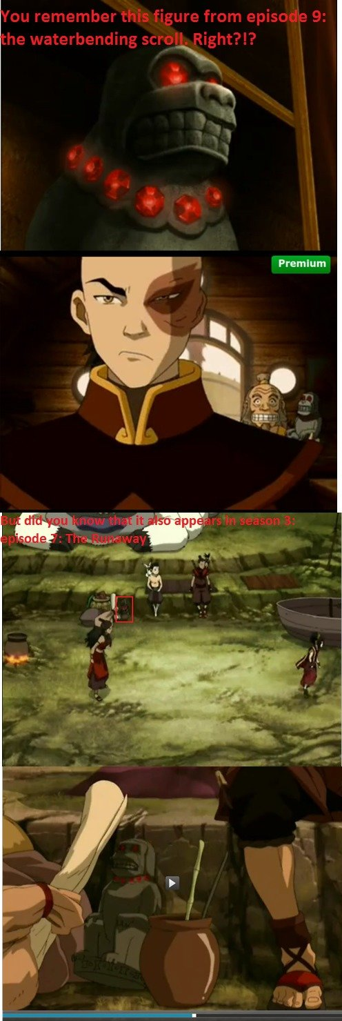 The Last Airbender Easter Egg. Just something I noticed while watching Avatar: the last airbender... god damn, Katara had sticky mother fingers.....